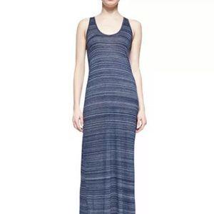 Vince Slub Striped Maxi Dress *has hole*